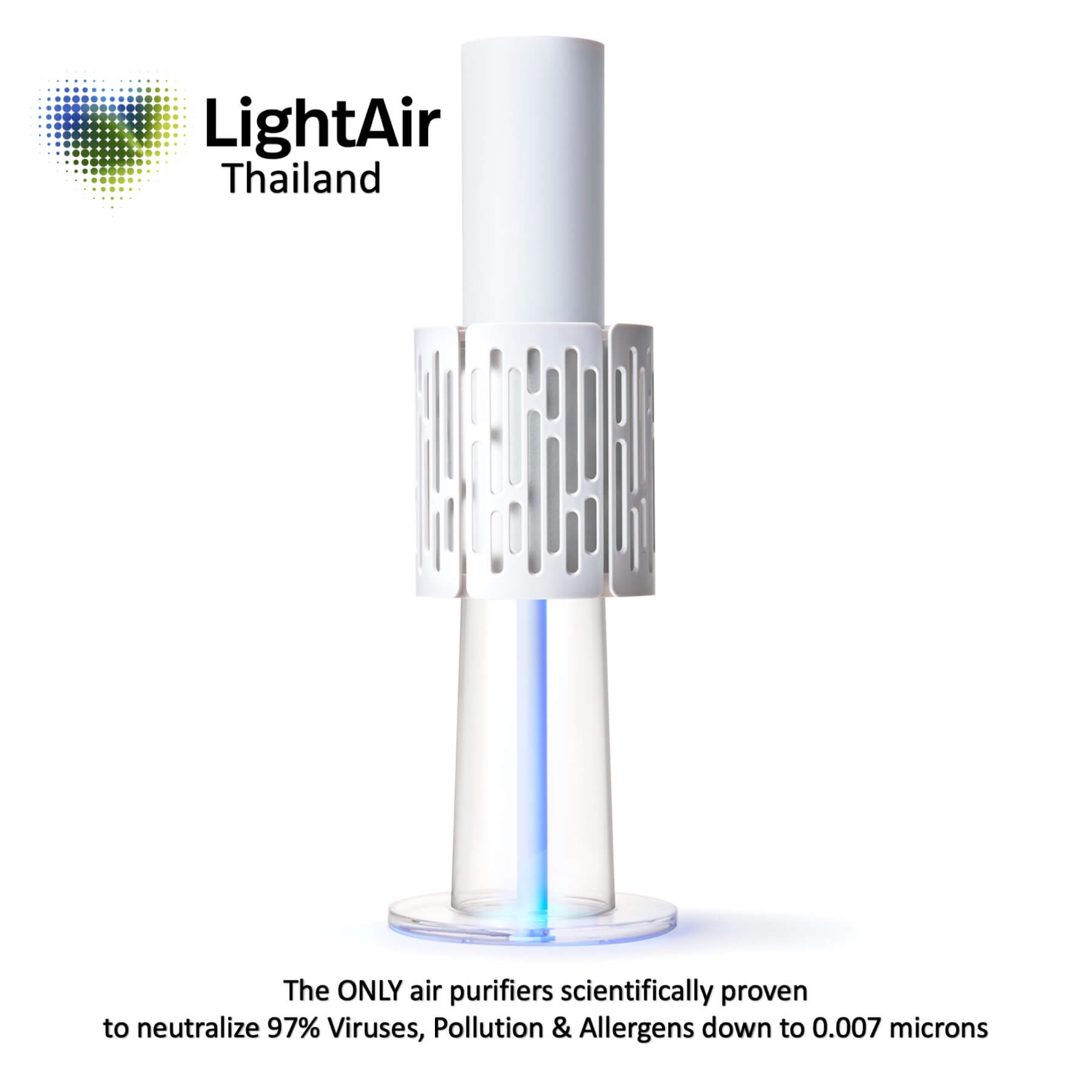 LightAir IonFlow Evolution – The best air purifier for harmful particles