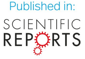 published in Nature.com Scientific reports