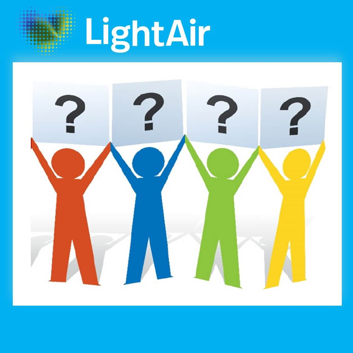 Lightair Faq's - frequently asked questions